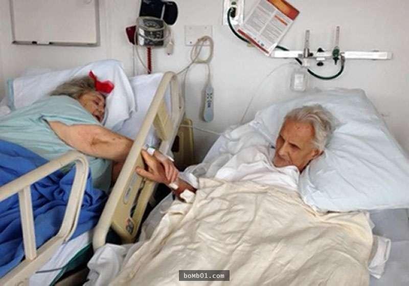 她在1952年前夫車禍逝世後遇上他,62年後…他們在臨終日子...