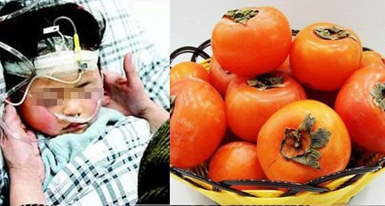 驚!這個3歲女孩吃完柿子喝了一樣東西,竟中毒身亡!「吃柿子的...