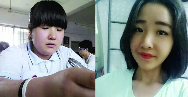 女大學生半年瘦50斤變身「女神」!她竟然是用這樣的方法瘦下來...