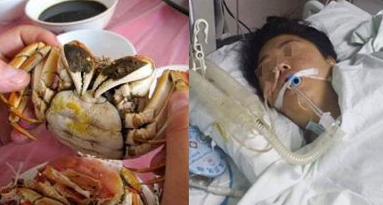 超可怕!男子吃完螃蟹腎衰竭!吃螃蟹的八個禁忌,你一定要知道!...