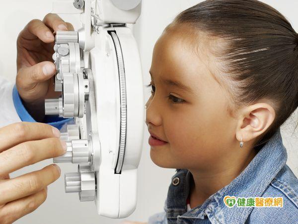 孩童出現假性近視按摩耳穴有效舒緩...