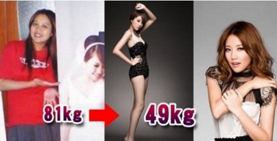 老公一句「妳好胖!」讓A-lin下定決心減肥,一口氣狂減32...