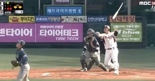 看傻眼!韓國史上最強打者...一球轟比一球遠,這甩棒太賤了吧...