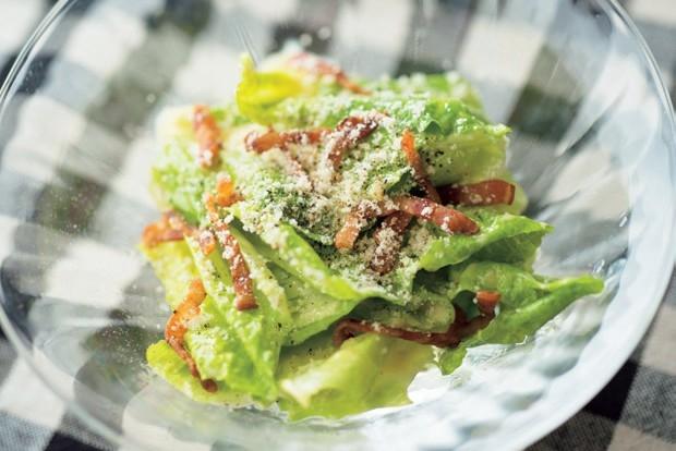 日本人長壽健康的「麴醬料理」鯷魚凱薩沙拉...
