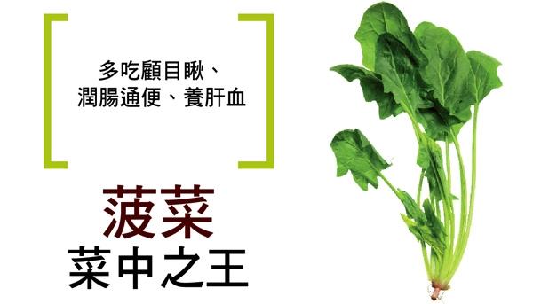 菜中之王「菠菜」多吃顧目瞅、潤腸通便、養肝血(歡迎分享)...