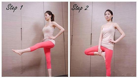瘦腿其實很簡單5個瘦腿動作10分鐘就見效...
