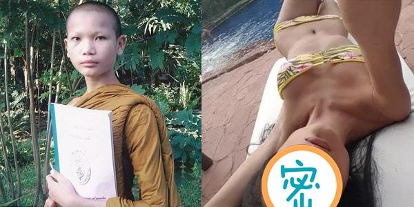 他在泰國做了6年的和尚!變性後竟然成為泰國最紅的模特...女...
