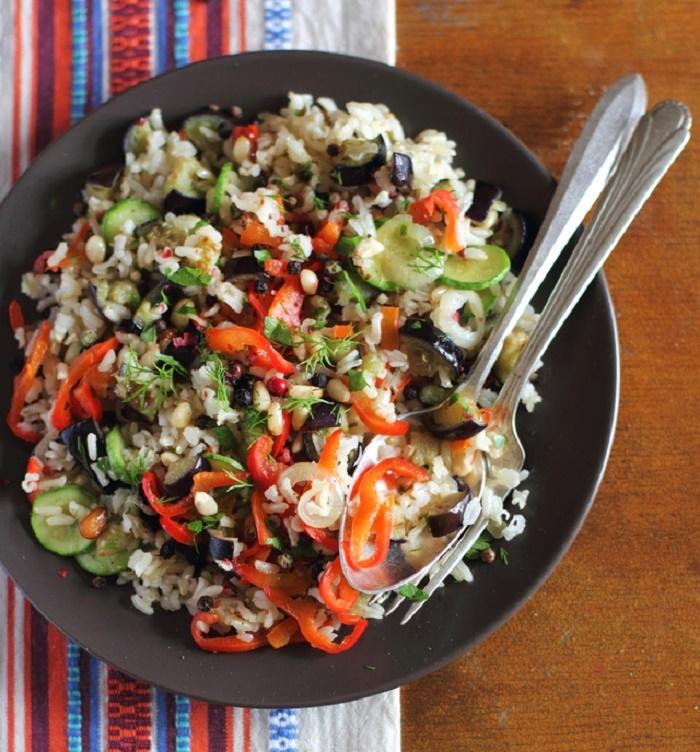 在國外大受歡迎♡用糙米做的「穀物沙拉」之健康食譜♪...