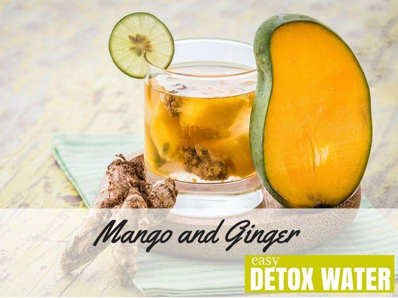 超簡單!自製「芒果生薑排毒水」!提昇免疫力、改善腹痛、孕吐!...