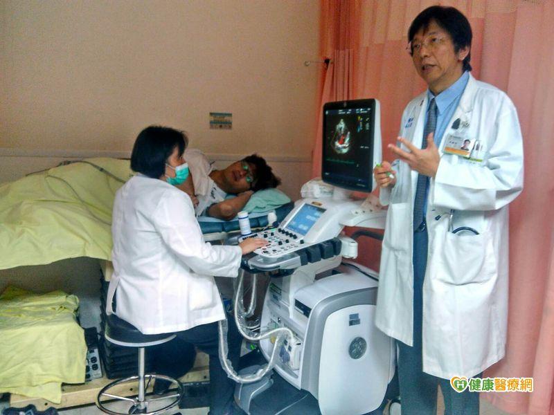 莫名氣喘超過1個月心臟超音波檢查找病因...