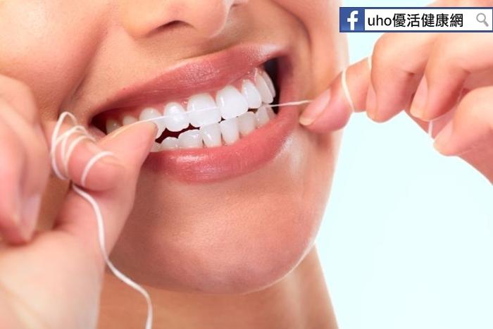 刷牙不夠,還要使用牙線才正確!小心,牙齦萎縮高10倍......