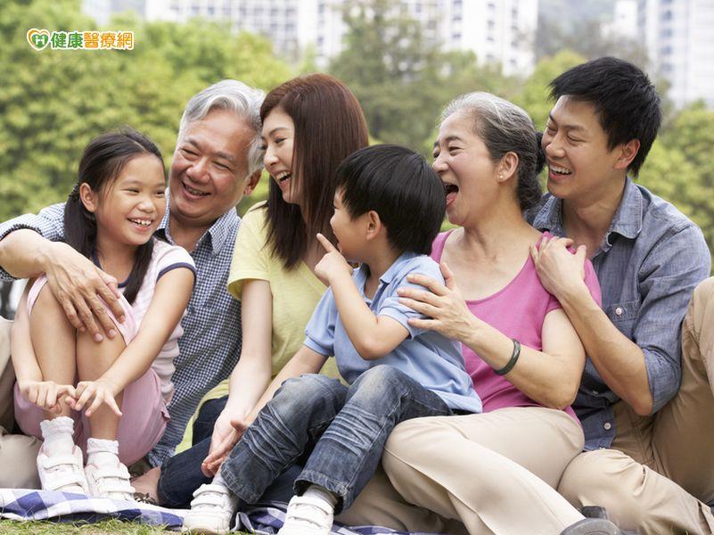 延年益壽家人比朋友重要...