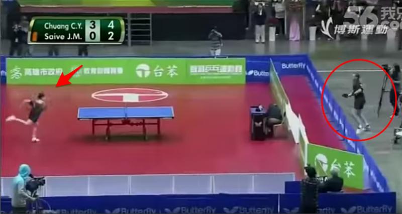 震撼!這場台灣人挑戰歐洲人的「桌球比賽」撼動全場!沒想到竟然...