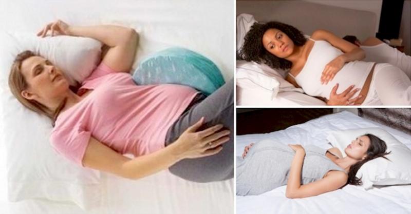 小心!絕對不能躺著睡!醫生糾正孕婦的正確睡覺姿勢,所有人都大...