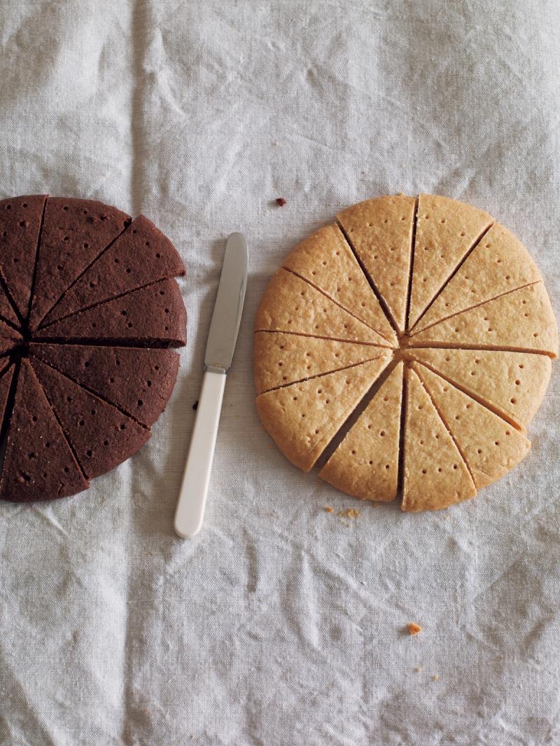 東販小食堂:香草及可可奶油酥餅...