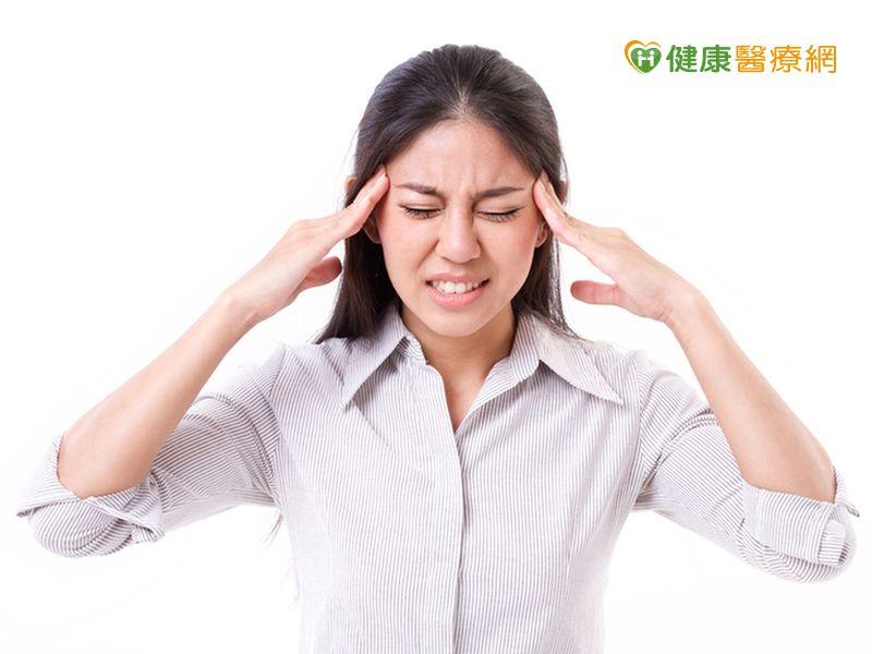 全台175萬人偏頭痛女性比男性高3倍...