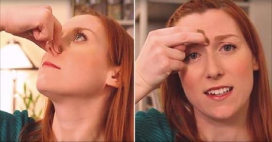 只要「兩個超簡單步驟」持續20秒,就能解決永久的「鼻塞困擾」...
