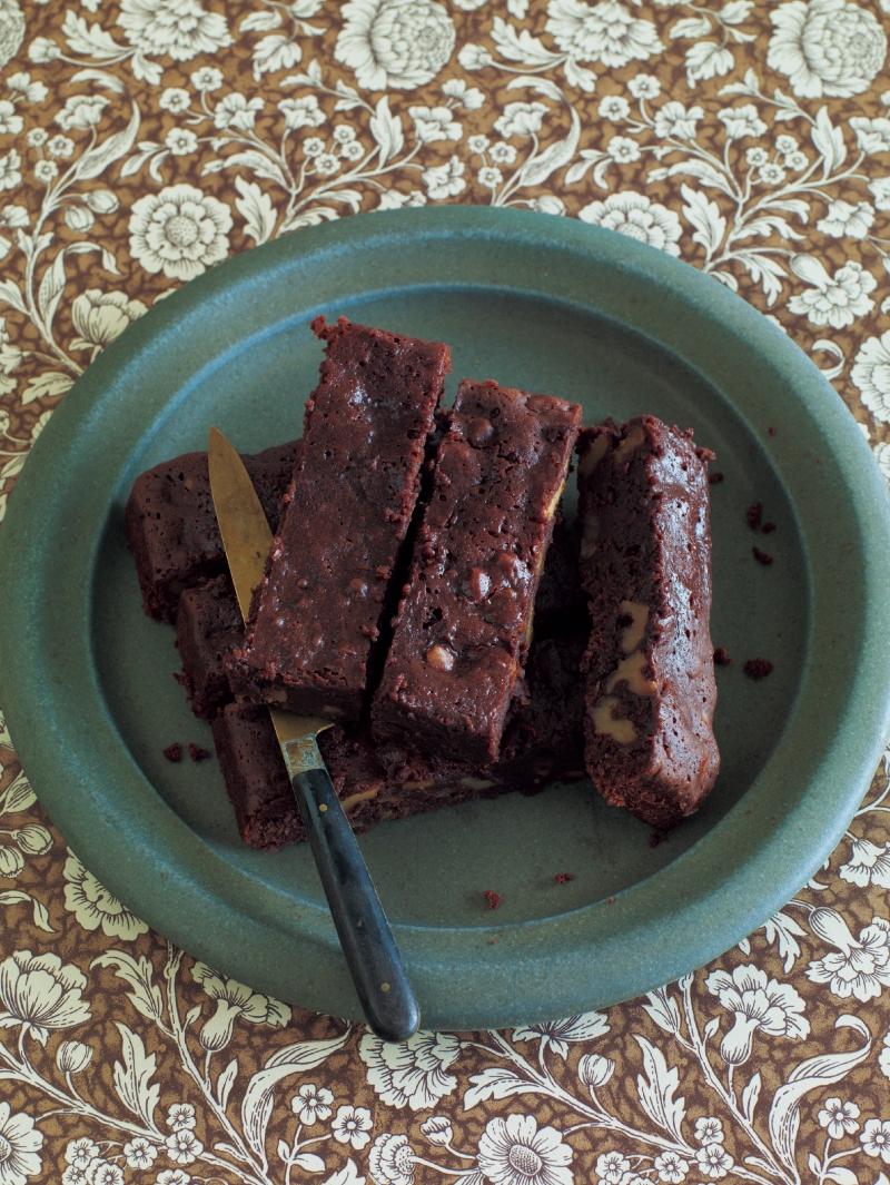 東販小食堂:布朗尼蛋糕...