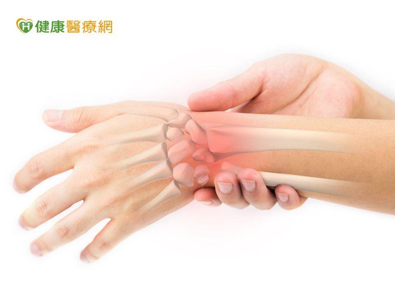手腕痠痛微創手術可改善...
