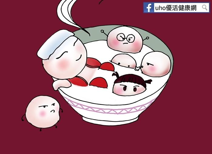 吃包「甜餡料」的湯圓,應小於2顆!這樣吃降血糖,維持健康~...