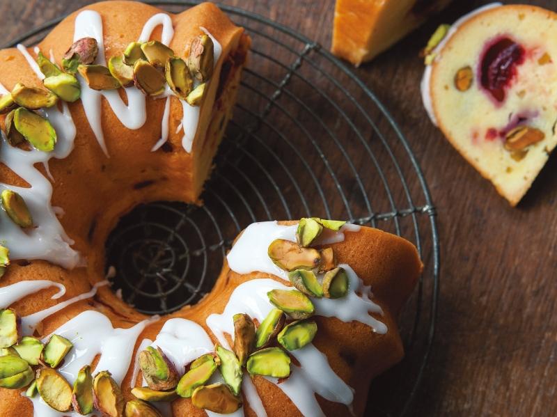 東販小食堂:開心果&蔓越莓特濃蛋糕...