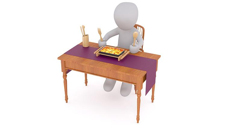 獨自吃飯會幫助你節食嗎?...