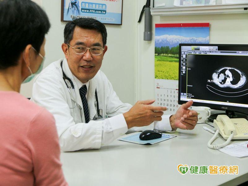 不抽菸也會得肺腺癌單孔胸腔內視鏡手術恢復快...