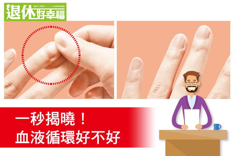 手麻腳麻是「心衰竭」的前兆?!快來學輕壓指甲,自我檢測......