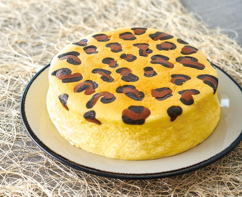 可愛又迷人的【日式豹紋芝士蛋糕】,在家也能做!慵懶的下午茶時...