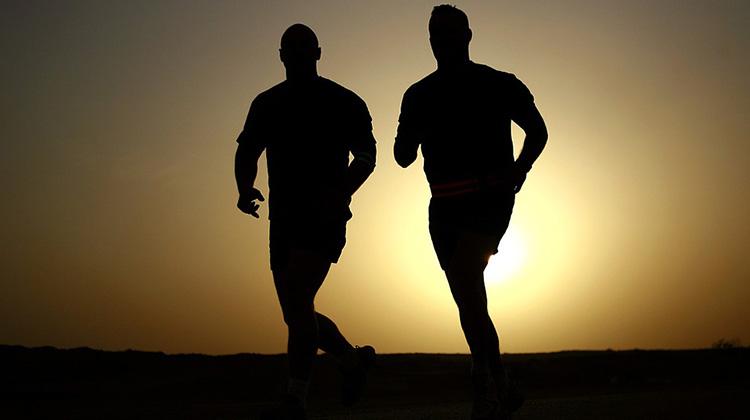 跑步可以延年益壽...