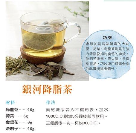 【給肌肉型肥胖的瘦身茶飲】1.銀河降脂茶2.羅漢決明茶...