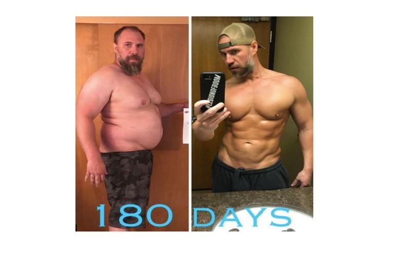 只半年時間,這個大胖子老爹,把自己變成了肌肉爆炸的猛男......