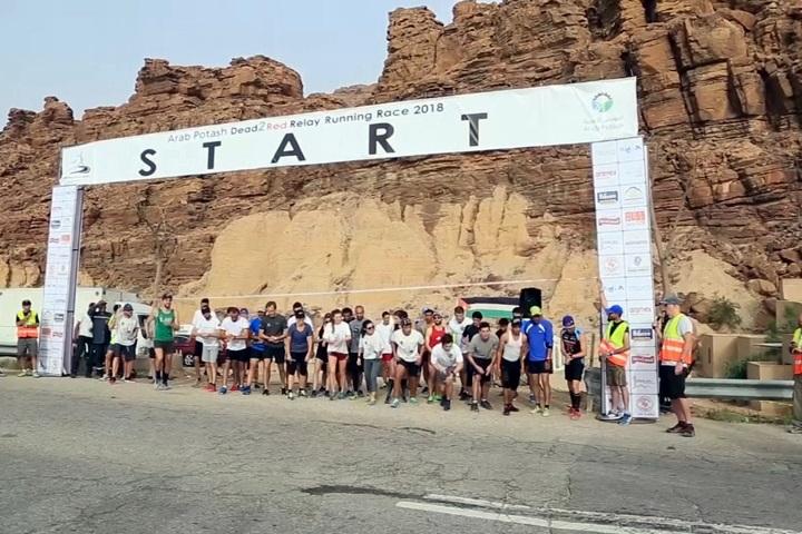 挑戰約旦極限馬拉松國際難民營組隊參賽...