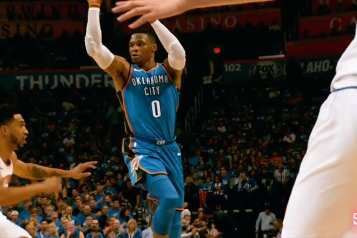 生涯百場大三元衛少:能進NBA就感謝上帝了...