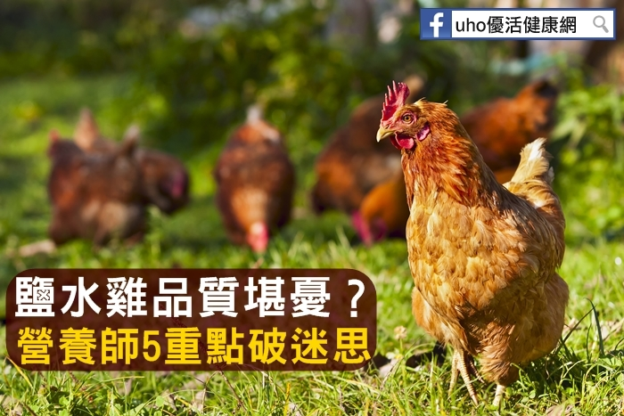 鹽水雞品質堪憂?營養師5重點破迷思...