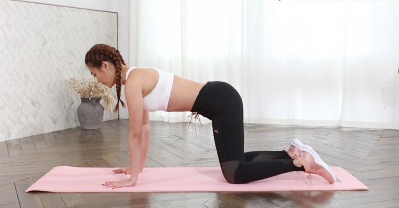 Kate老師分享3個皮拉提斯動作瘦小腹練美背緊實手臂超減齡...