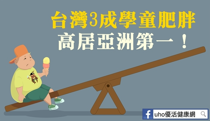 台灣3成學童肥胖高居亞洲第一!...