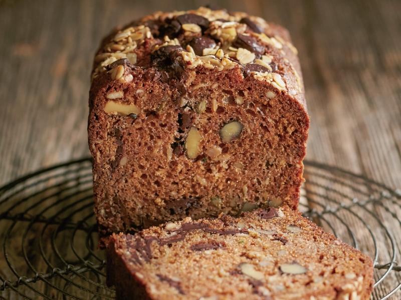 《巧克力堅果籽蛋糕》雙重口感滿足你的口腹之慾...