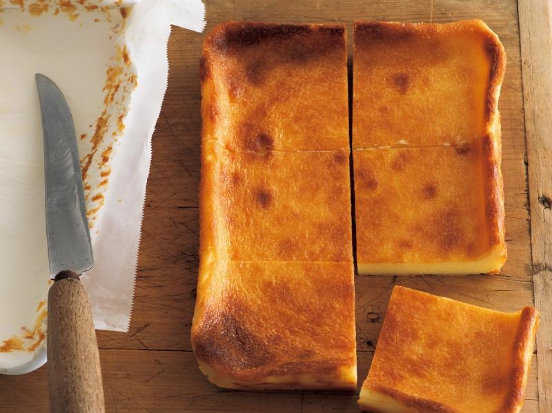 還沒回歸上班狀態的今天,讓我們一品濕潤濃郁的《烤起司蛋糕》吧...