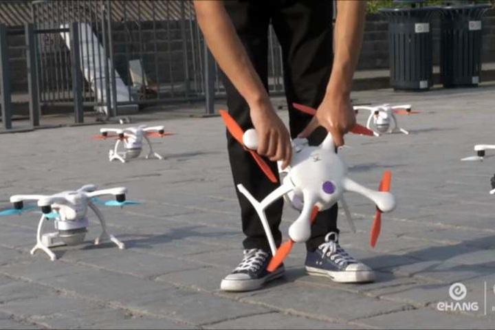 科技公司砸5000萬!創1374架無人機飛行紀錄LIFE生...