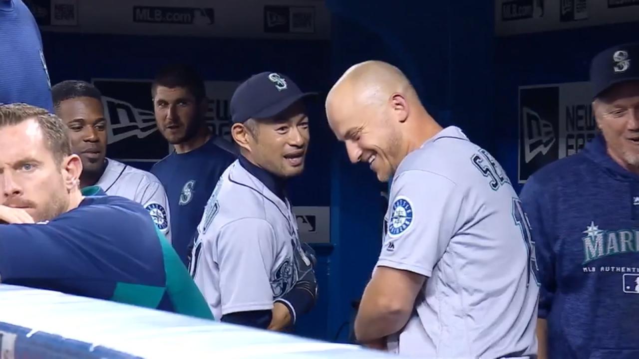水手總教練周末請假鈴木一朗客串板凳教練...