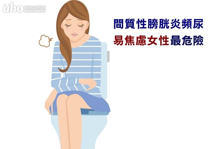 間質性膀胱炎頻尿易焦慮女性最危險...