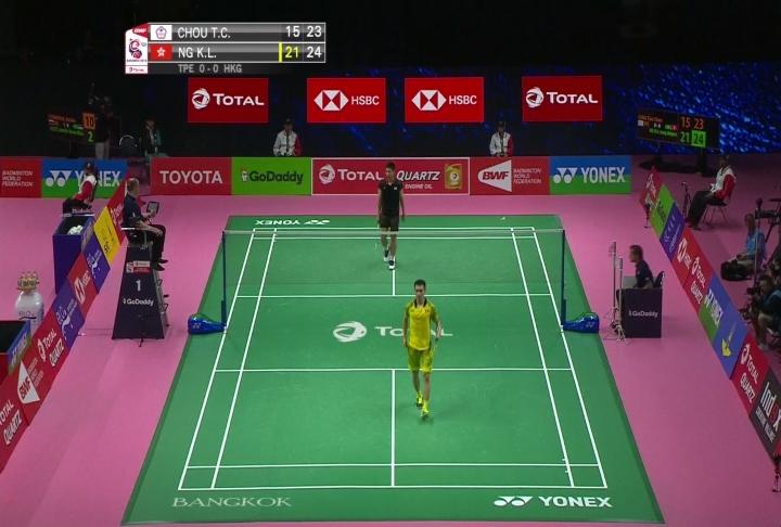 湯瑪斯盃羽球賽台灣隊4:1香港晉級八強...