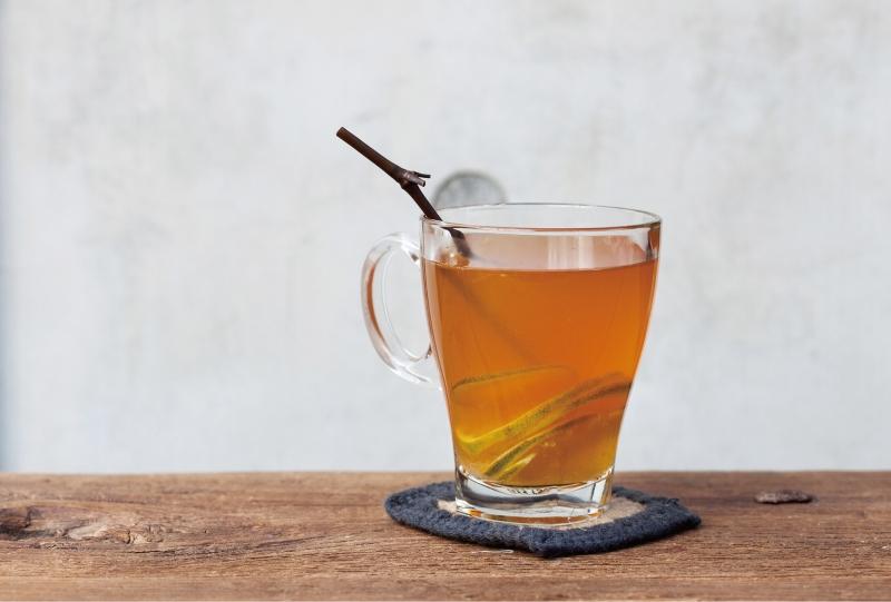 影/自製「萊姆香草茶」,奶油和萊姆完全融為一體~讓繁忙的生活...
