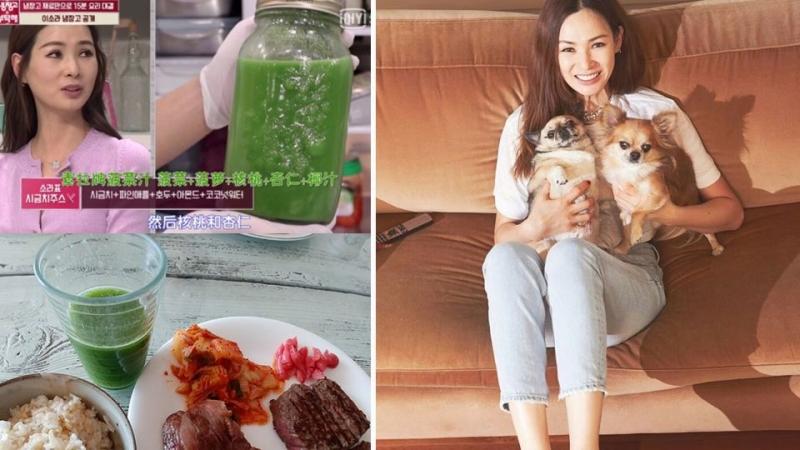 影/韓國48歲李素拉,少女保養法全靠「2杯果汁」!盤點4位韓...