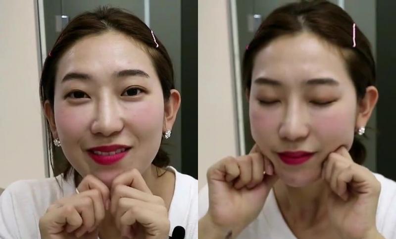 韓國網美教練示範小臉瑜珈!5動作,輪廓線緊緻超有感,加碼推薦...